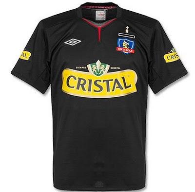 #CamisetasDeFútbol Colo Colo 2012 Suplente