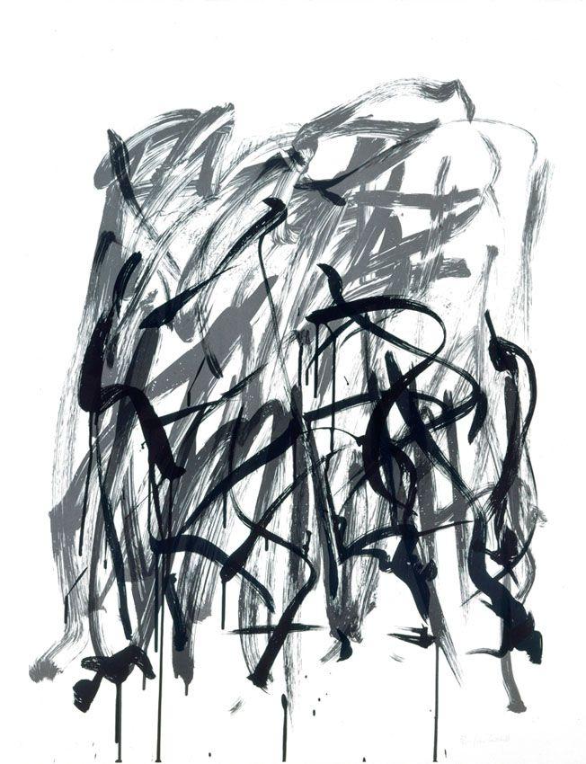 Brush-State I, 1981 Joan Mitchell