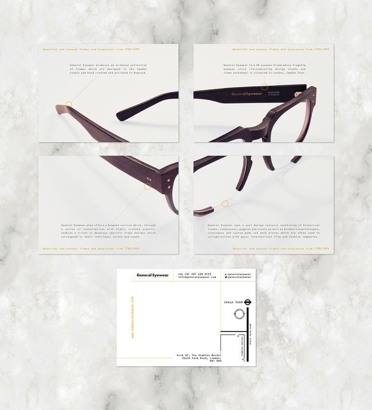General Eyewear Identity on Behance