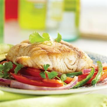 Spicy Sauteed Snapper over Vegetables #FamilyDinner