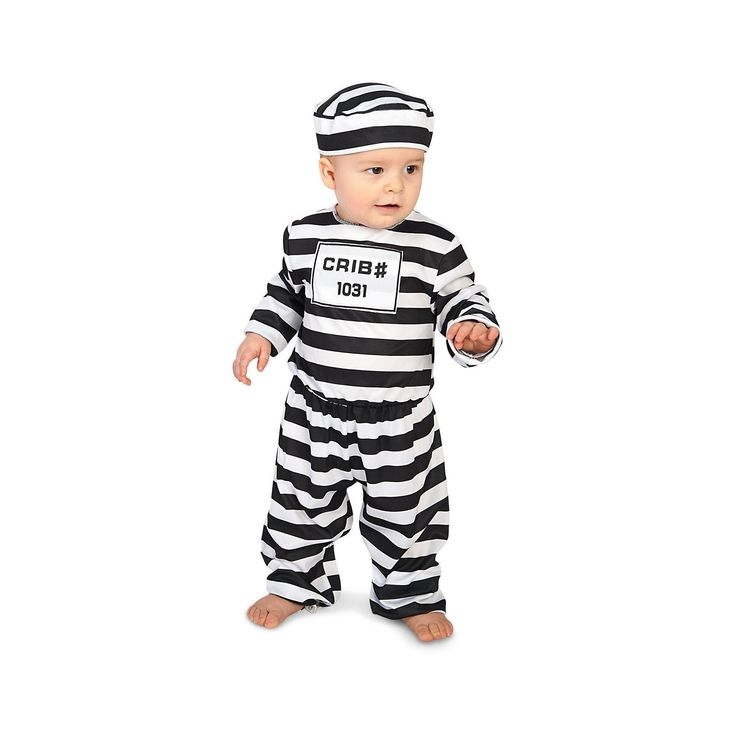 Halloween Doin' Time Infant Costume 18-24 Months, Infant Unisex, Size: 18-24 M, Multicolored