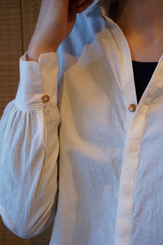 ウィング衿比翼シャツ パラスパレス