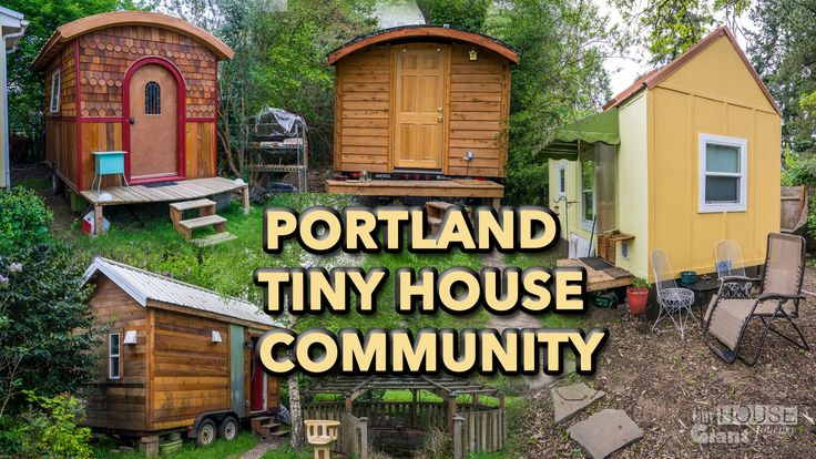 Tiny House Community in Portland - http://www.freecycleusa.com/tiny-house-community-in-portland/
