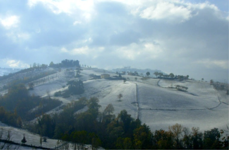 Dull snow #Camerino