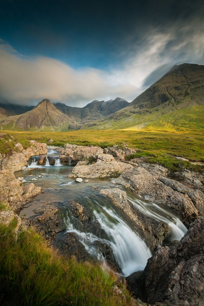 Fairy pools, Isle of Skye, Scotland by Marek Kedzierski