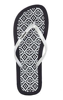 O'NEILL Moya Pattern Zehensandalen Damen schwarz/weiß im Online Shop von SportScheck kaufen