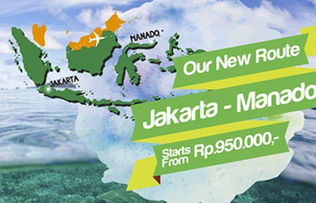 Rute Baru Citilink Jakarta - Manado