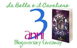 La Bella e il Cavaliere: Blogoversary Giveaway: 3 anni con La Bella e il Ca...