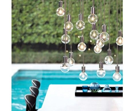 Create 1 Light Pendant in Chrome $29.95  WAS $39.95  SAVE $10.00