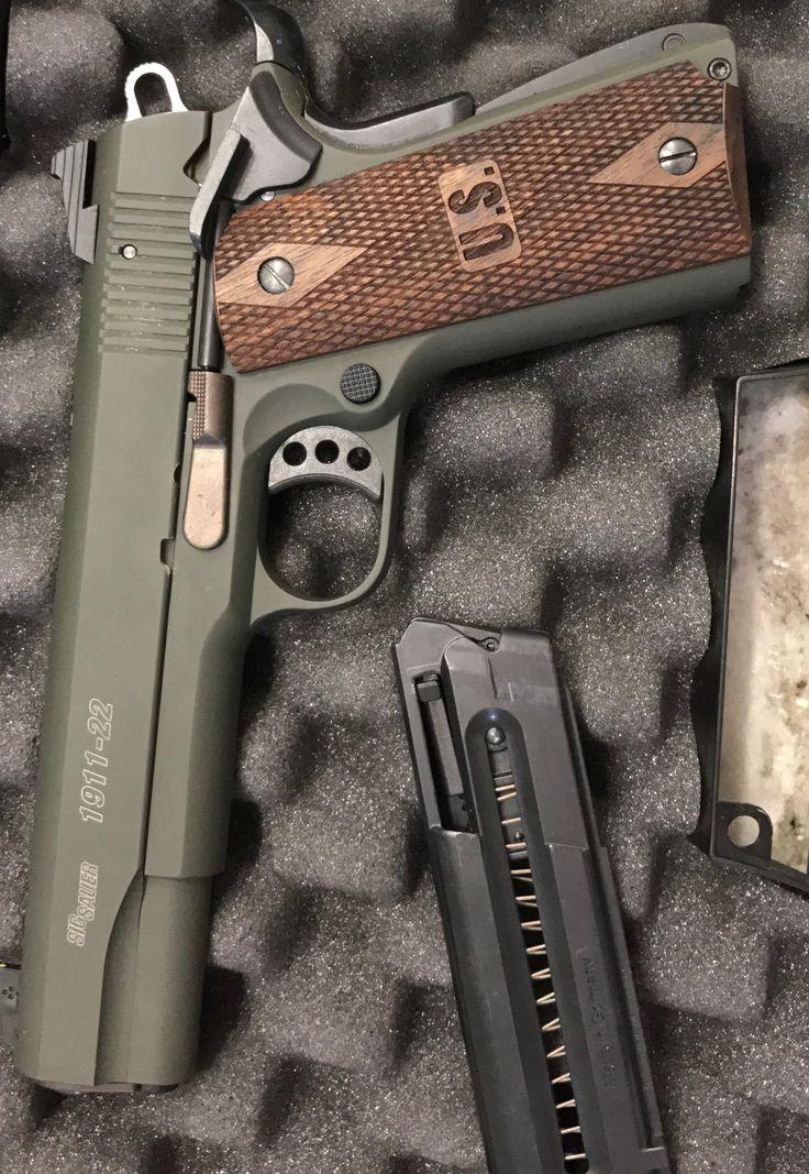 Sig 1911-22 OD Green