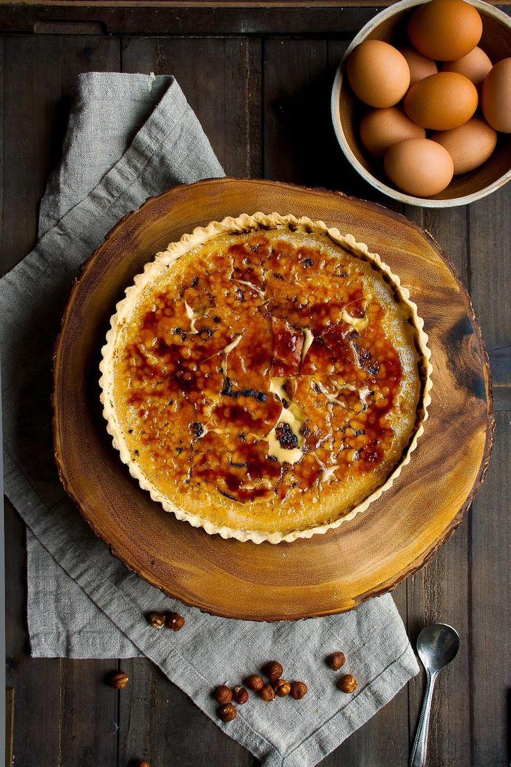 Hazelnut Creme Brûlée Tart | Hint of Vanilla