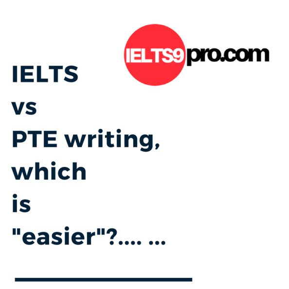 ielts v pte writing which is easier