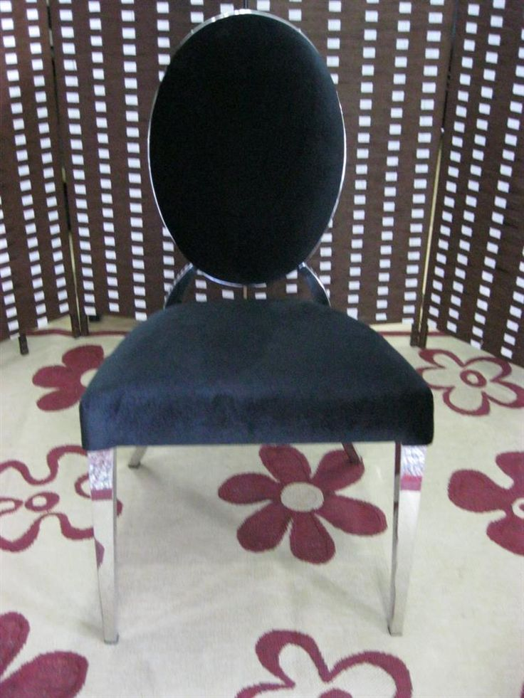 www.limedeco.gr classical design for this black chair without arms