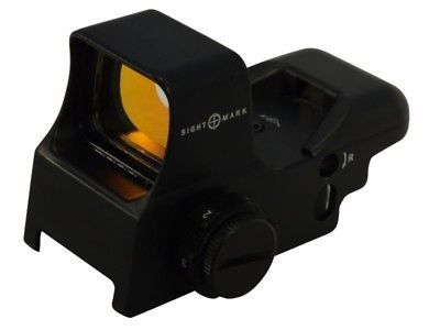 ﹩80.00. Sightmark Ultra Shot Reflex Red Dot Sight 30mm Tube 1 x 4 Pattern SM13005    Reticle - Red Dot, Lens Diameter - 30MM, Color - Black