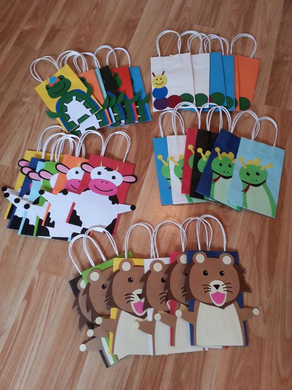 Baby Einstein Party Favor Gift BagsSet of 5 by PartyRockinEvents