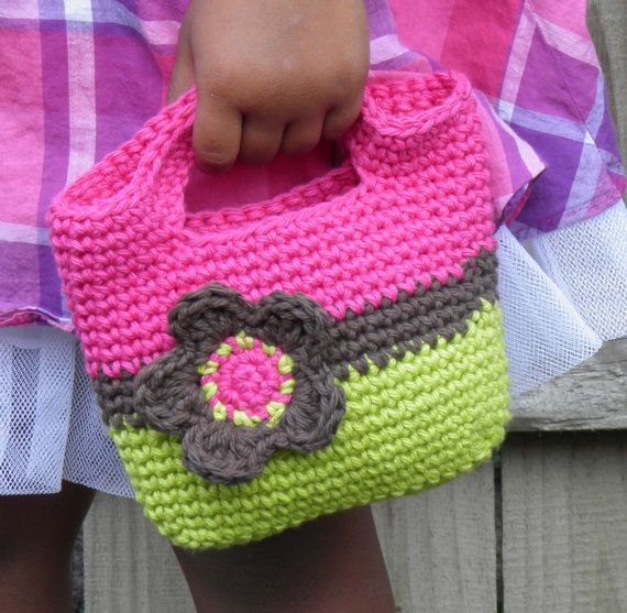 Girls Flower Mini Purse Custom Colors by SweetCheeksGiftStore, $20.00