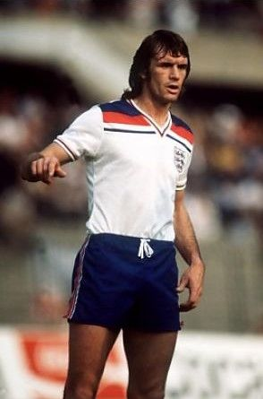 Dave Watson England 1980