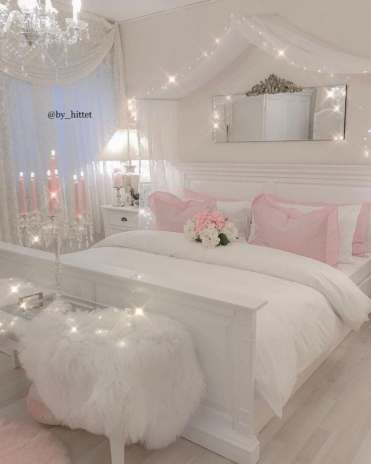 37 Schone Ideen Fur Super Schicke Madchenzimmer 2019 Ideen Madchenzimmer Schicke Schone Super Girl Bedroom Decor Girl Bedroom Designs Girly Bedroom