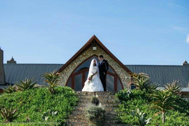 Entrance wedding venue