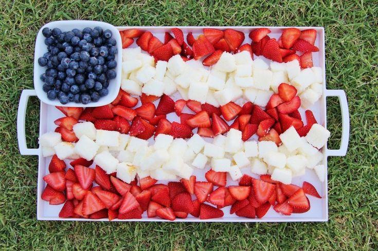 Memorial Day Fruit Cake Food Ideas Pinterest