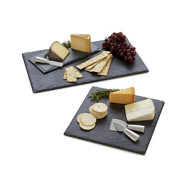 Slate Cheese Boards   Crate and Barrel