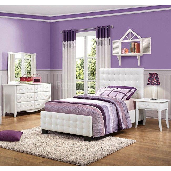 Sparkle Youth Upholstered Bedroom Set