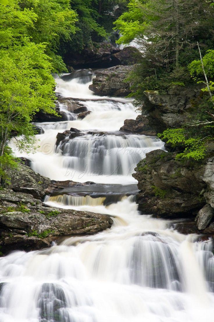 Highlands, NC Waterfall
