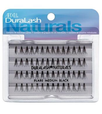 Ardell - Pestañas postizas Individuales Duralash - AR65052:  Medium Black