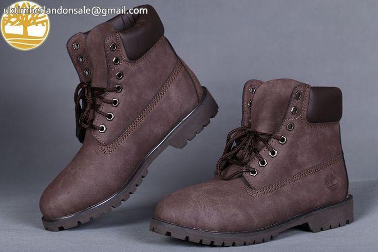 Custom New Timberland Brown-Black 6 Inch Classic Premium Men Boots $85.99