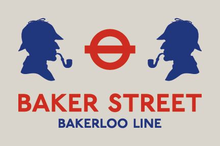 London Underground - Baker Street Poster 36x24 by Jonathan Guy, via Flickr