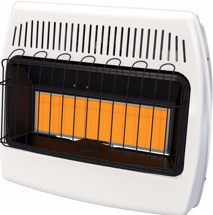 30,000 BTU Natural Gas Infrared Natural Gas Wall Heater Indoor Heating New #heater
