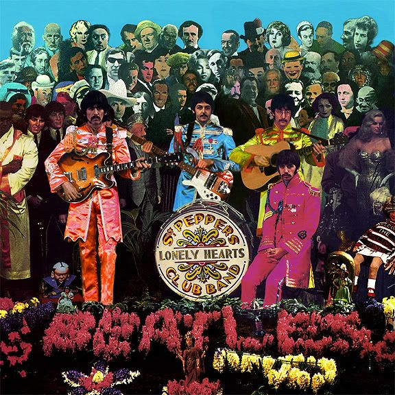 vintage everyday: Photo Shoot for Sgt. Pepper Album Cover