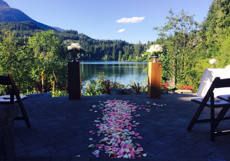 Aura Patio Nita Lake Lodge- July 29 2016 | Wedding Planner www.seatoskycelebrations.com | #whistler #nitalakelodge