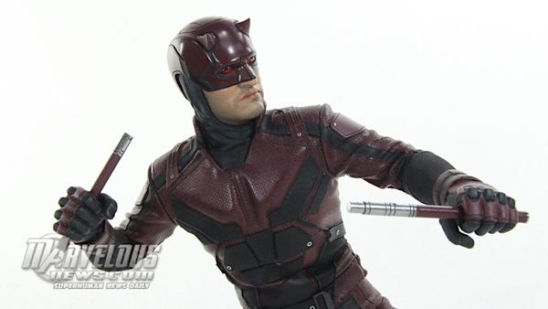 Hot Toys 1/6 Scale Netflix Daredevil Figure Video Review & Image Gallery #Marvel