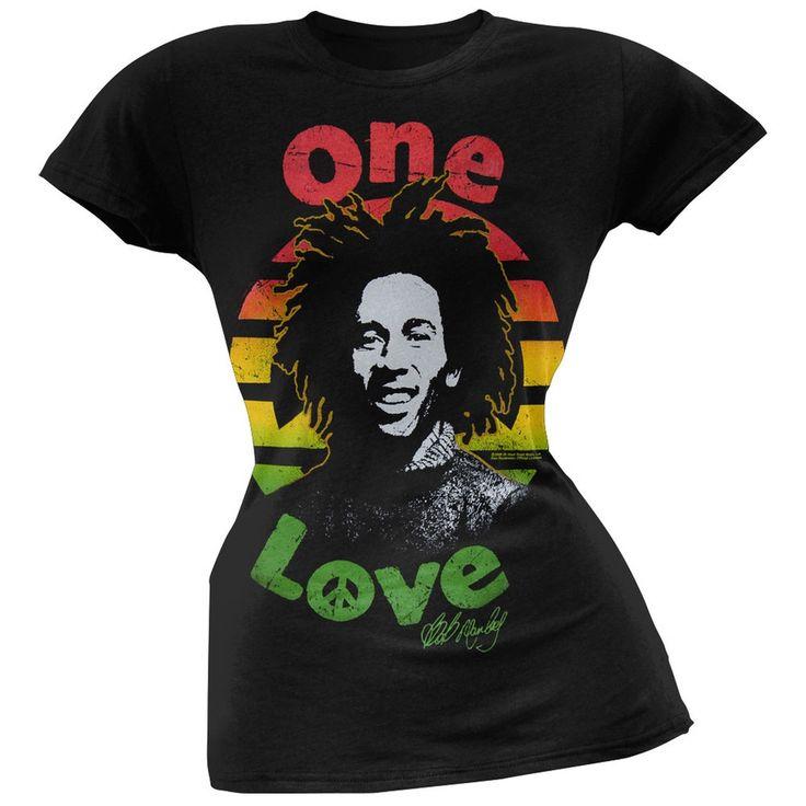 Bob Marley - One Love Circle Women's T-Shirt
