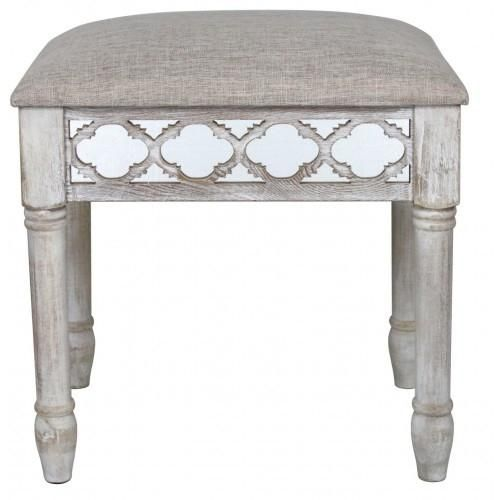 If you have any of the Hamlin Beach range then this Hamlin Beach Vanity Stool will finish off nicely. Not large in size as to make it impossible to move but lar