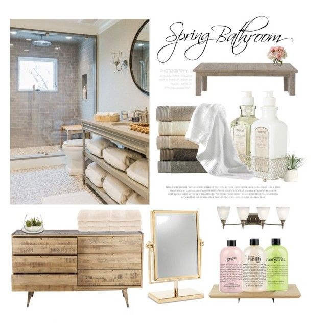 """Bathroom Ideas!"" by silviadarma on Polyvore featuring interior, interiors, interior design, home, home decor, interior decorating, Universo Positivo, Sea Gull Lighting, philosophy and Pier 1 Imports"