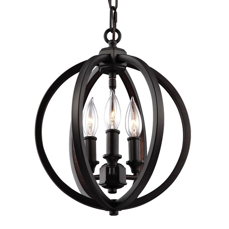 light crystal inlay globe pendant orb whammered al inlayoil rubbed bronze