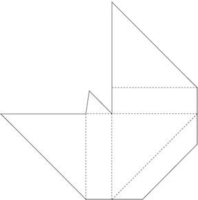 PDF template for DIY corner protectors, those cardboard corners for protecting frames and paintings in transit or storage.