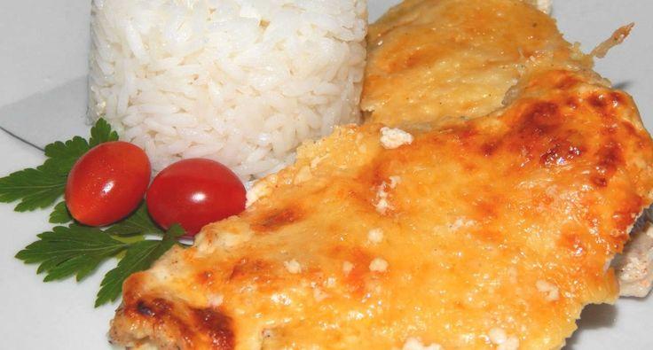 Tejfölös, sajtos csirkemell recept -- GYORS