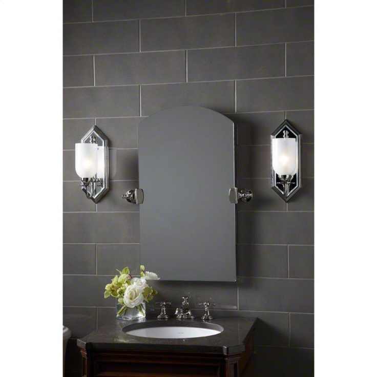 Beautiful brushed nickel Janeway mirror by Kallista  sc 1 st  Pinterest & 13 best Mirror Mirror on the wall... images on Pinterest ... azcodes.com