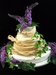 Cheese Wedding Cake or Tower to feed 85-125 (Mixed Cake W)