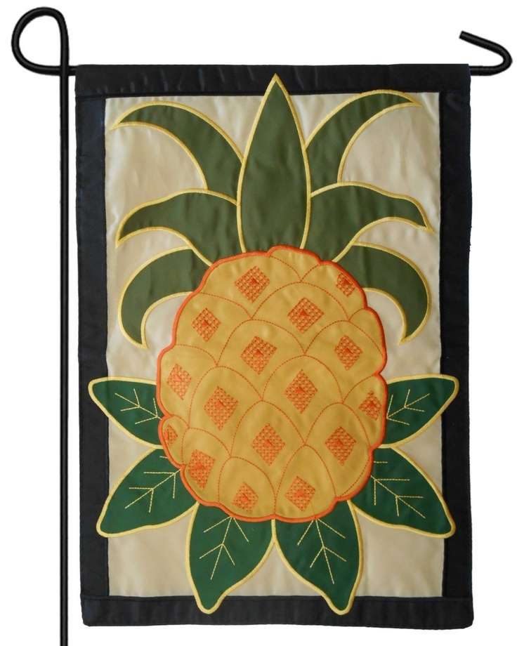 17 Best Images About Pineapple House Flags And Garden