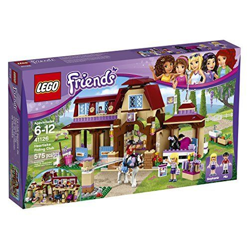 LEGO Friends 41126 Heartlake Riding Club Building Kit (575 Piece) | @giftryapp