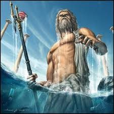 dit is de god poseidon, hij is god van het water.