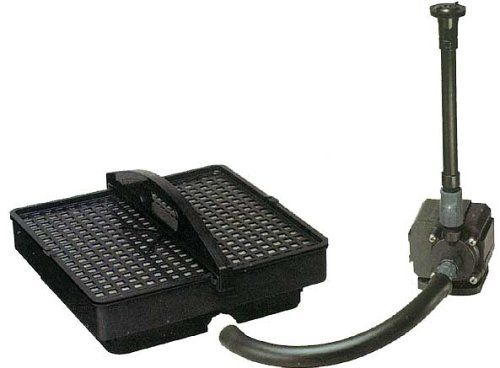 Pondmaster 02215 500 GPH Pond Pump with Filter and Fountain Set (Discontinued by Manufacturer)