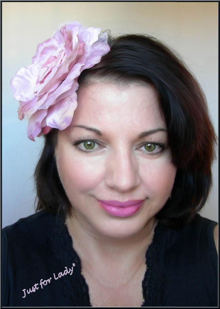 Bibi / Chapeau, Rose -- Lin, fleur et cabochon ancien - Mariages, Cérémonies, Cocktails... : Chapeau, bonnet par ladyplazza