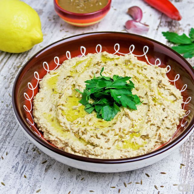 Zelfgemaakte hummus: gezond en erg lekker!