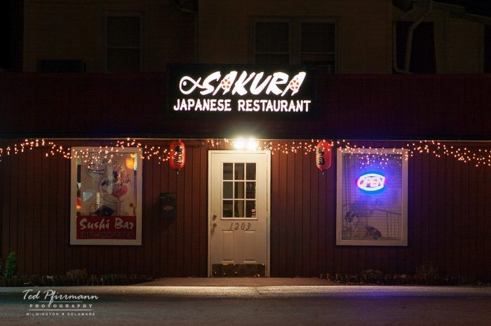 9. Sakura Japanese Restaurant, Wilmington