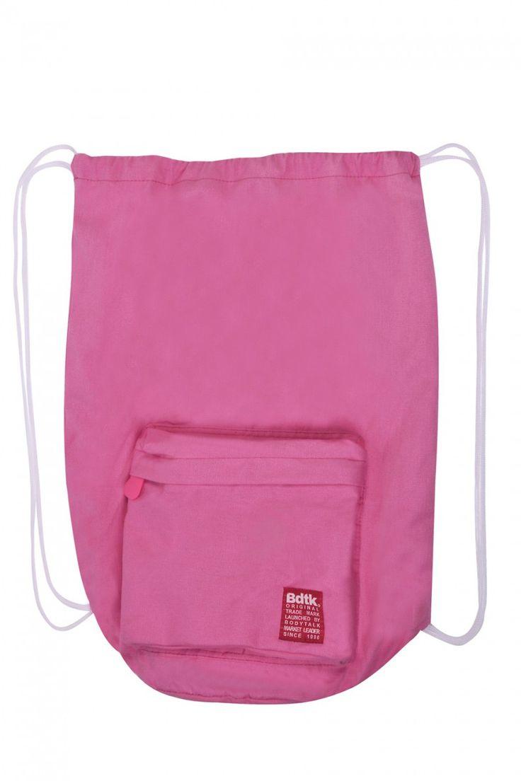 Τσάντα Θαλάσσης-Πουγκί - NEON PINK
